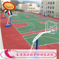 学校运动跑道 篮球场防滑耐磨水泥地坪漆