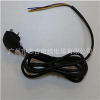 英标电源线插头3芯电源连接线电子线材