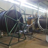 供应HDPE双平壁塑钢缠绕管道设备 华仕达