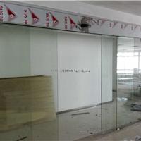 供应银行自动感应玻璃门