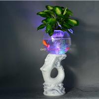 供应无土栽培花卉电子增氧花瓶厂家批发