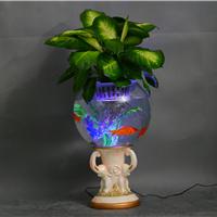 供应珍雅轩多功能花瓶鱼缸电子水培花卉花瓶