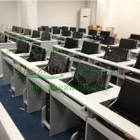 供应显示器翻转电脑桌学生机房桌