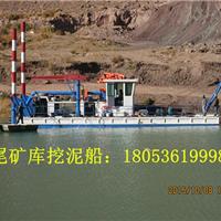 湖北水库环保绞吸式挖泥船清理淤泥