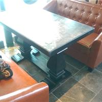 供应富美家防火板餐桌 餐厅桌椅直销厂家