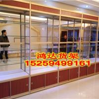 供应精品货架钛合金展柜展示柜厂家生产