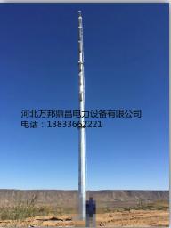 万邦10KV钢管杆35KV钢管杆 钢管杆