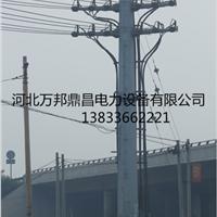 万邦钢管杆 钢管杆厂 钢管杆生产厂家