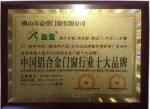 中国铝合金十大行业品牌