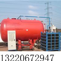 气体顶压应急消防气压给水设备