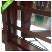 108断桥铝合金平开窗 窗纱一体复合门窗定制