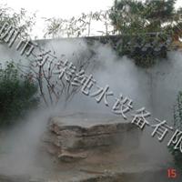 假山人造雾深圳景观造雾设备景观造雾工程