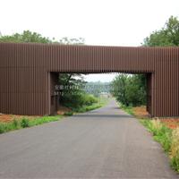 安徽木塑墙板厂家|生态木墙板|塑木外墙装饰