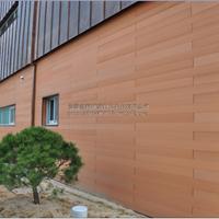 合肥塑木护墙板 木塑楼顶花园 庭院景观小品