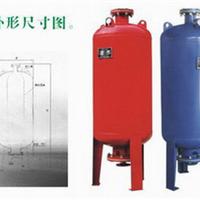 供应唐山碳钢立式隔膜气压罐