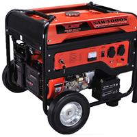 小型便携5KW汽油发电机380V