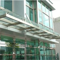 供应透明耐力板雨搭、坚固耐用、 可定制