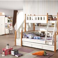 供应儿童高低床实木 子母床 儿童双层床实木