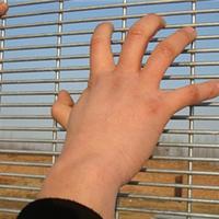 高档住宅区防爬金属防护网小区防爬防护网