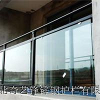 供应厂家直销夹玻璃锌钢阳台护栏