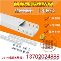 天津电缆镀锌喷塑桥架铁线槽100*50