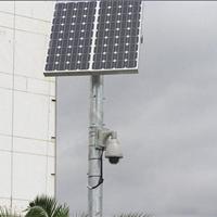 供应太阳能道路监控系统,太阳能多晶滴胶板