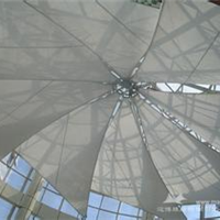 供应膜结构 张拉膜 膜结构车棚 汽车停车棚