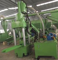 黄石金属屑压块机生产线L设计提供工艺流程