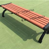 批发供应白色铸铝户外防锈公园椅