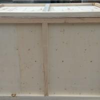 济南厂家供应钢边箱木质包装箱免熏蒸木箱