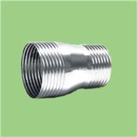 供应锥螺纹薄壁不锈钢燃气管 异径直通管件