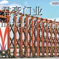海南省不锈钢伸缩门,海口市电动伸缩门