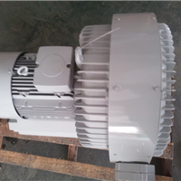 供应吸粮食专用5.5KW双叶轮高压风机