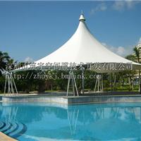 供应膜结构 膜结构泳池 膜结构小伞 凉亭