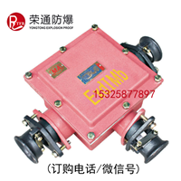 BHD2-200/1140-3G矿用隔爆型低压电缆接线盒