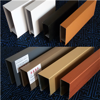 新余木纹铝方通太铝厂家大量供应