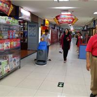 百色供应大型超市清洁的多功能电动洗地机