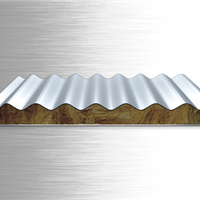 沈阳聚氨酯彩钢夹芯板彩钢复合板