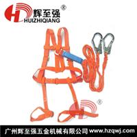 缓冲型双大钩施工安全带-防护必备安全带