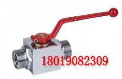 供应外螺纹高压球芯截止阀QJH-10WL