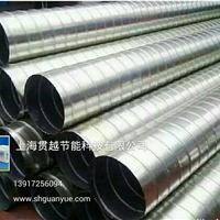 上海生产螺旋风管 共板法兰 排烟管道厂家