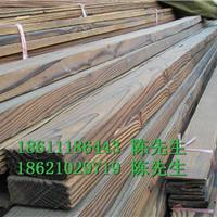 花旗松碳化木30*120规格景观板材浙江加工厂