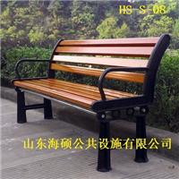山东潍坊景休闲座椅防腐木户外休闲椅可定做