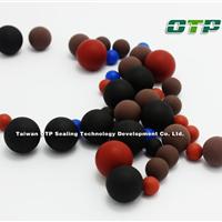 进口耐油类实心水磨橡胶球厂家供应
