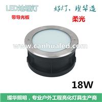 供应LED9/15/18W柔光地埋灯/带导光板地埋灯