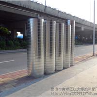 广州螺旋风管厂专业生产镀锌螺旋风管厂家