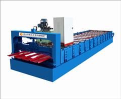 彩钢压瓦机生产