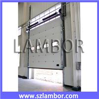 供应工业滑升门,高档厂房大门,垂直提升门