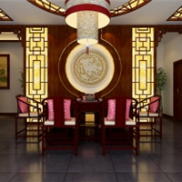 天津茶馆设计装修风格中式茶馆装修精装