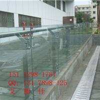 商场中庭栏杆不锈钢实心扁钢立柱  304材质
